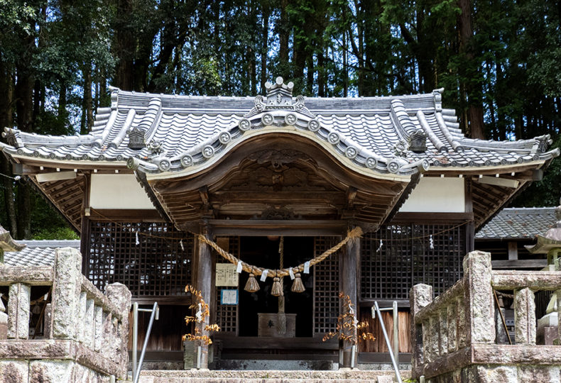 八王子神社(岐阜県瑞浪市陶町)