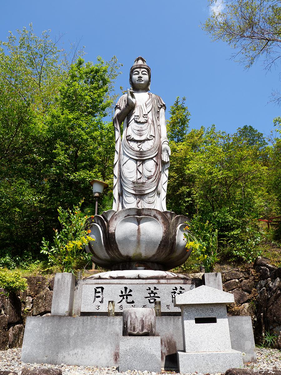 天佑山大洞院(天佑稲荷) 月光菩薩